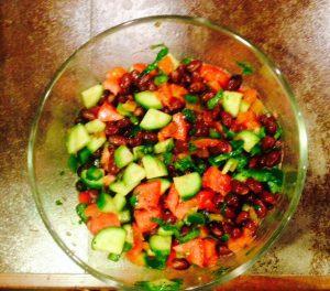Black Bean Veggie Salad